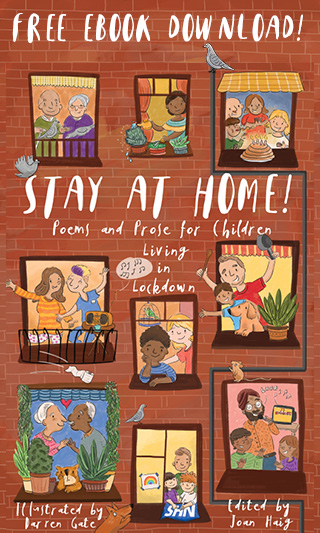 Cranachan advert for Stay at home. Free ebook for children in lockdown
