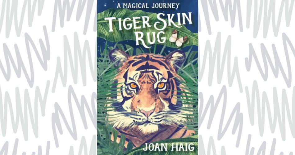 Tiger Skin Rug cover by Joan Haig